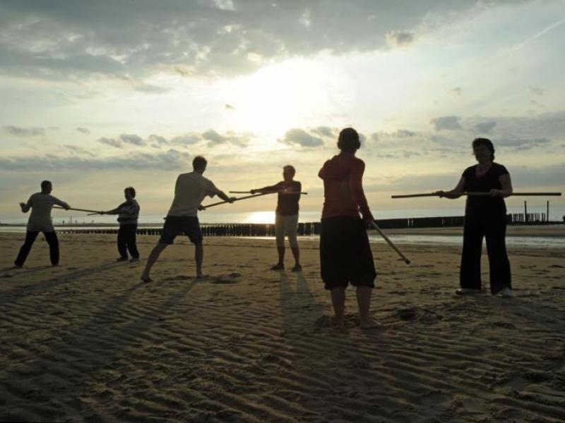 stokken strand Wushu